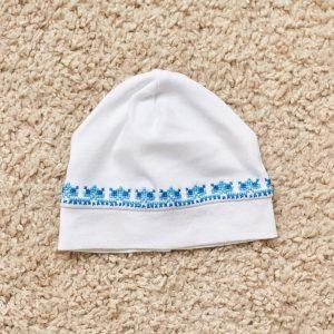 дитяча шапка трикотажна