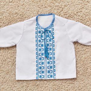вишита сорочка на хрестини