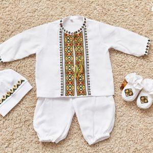 набір одягу на хрестини тарас